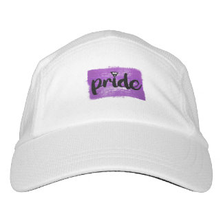 LESBIAN PRIDE CALLIGRAPHY - PAINTED LESBIAN PRIDE  HAT