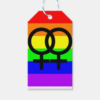 Lesbian Pride Gift Tags