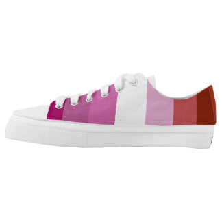 Lesbian Pride Sneakers