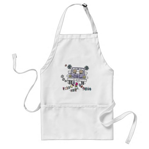 Lesbian Wedding Just Married Apron