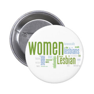 Lesbian Words 6 Cm Round Badge