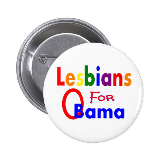 lesbians for obama button