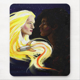 Lesbians in Space Mouse Pad