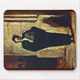 Lesender Lawyer By Daumier Honoré Mouse Pads