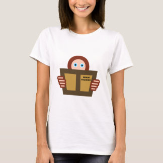 Leser Gehirntraining reader book brain training T-Shirt