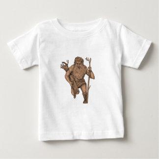 Leshy Tree Runk Staff Tattoo Baby T-Shirt