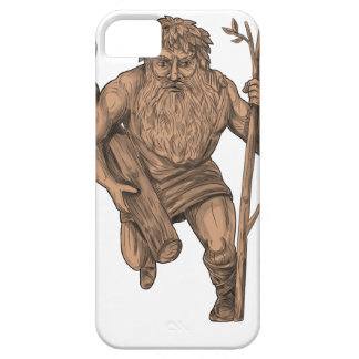 Leshy Tree Runk Staff Tattoo Case For The iPhone 5