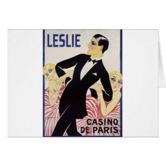 Leslie! Card