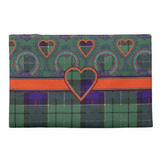 Leslie clan Plaid Scottish tartan Travel Accessories Bags
