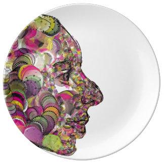 Leslie Harlow Designer Plate Porcelain Plates