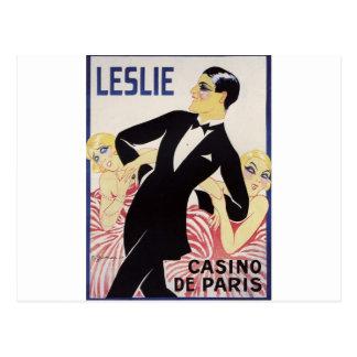 Leslie! Postcard