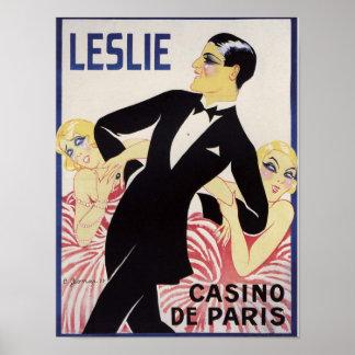 Leslie! Poster