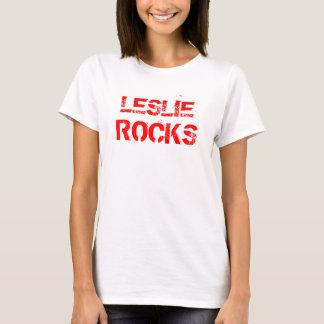 LESLIE, ROCKS Tee Shirts