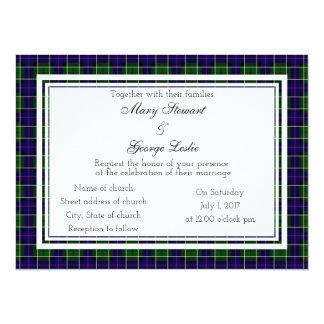 Leslie Scottish Wedding Invitation