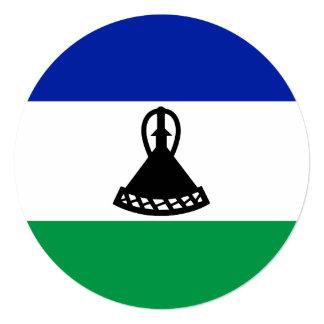 Lesotho Flag Card