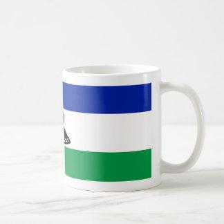 Lesotho Flag Coffee Mug