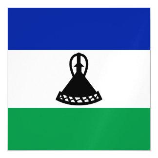 Lesotho Flag Magnetic Card