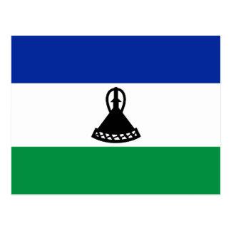 Lesotho Flag Postcard
