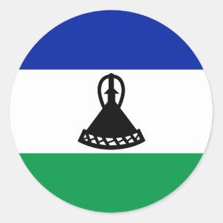 Lesotho Flag Sticker