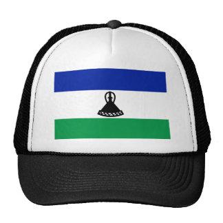 Lesotho National World Flag Cap