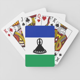 Lesotho National World Flag Playing Cards