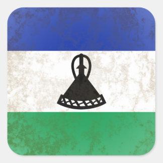 Lesotho Square Sticker