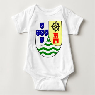 Lesser_coat_of_arms_of_Portuguese_India Baby Bodysuit