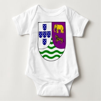 Lesser_coat_of_arms_of_Portuguese_West_Africa Baby Bodysuit
