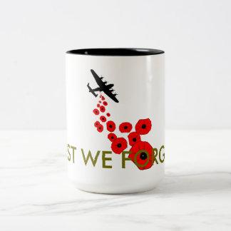 Lest We Forget poppy Mug