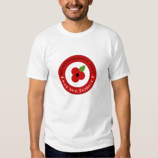 Lest we forget - T-shirt