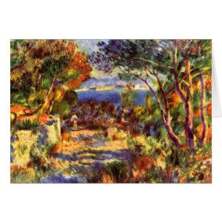 L'Estaque by Pierre Renoir, Vintage Impressionism Card