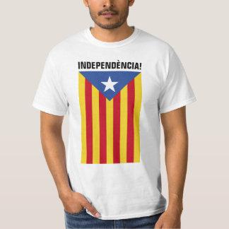L'Estelada Blava - Blue Star Flag Catalonia T-Shirt
