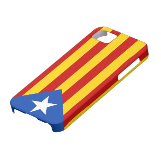 """""""L'Estelada Blava"""" Catalan Independence Flag Barely There iPhone 5 Case"""