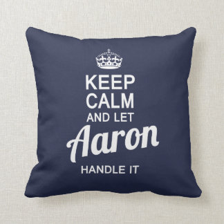 Let Aaron handle it! Cushion