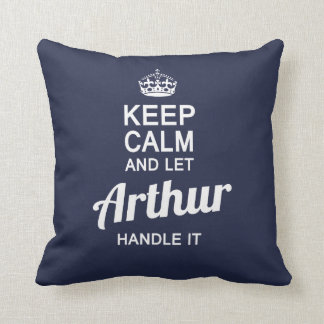 Let Arthur handle it! Cushion