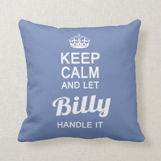 Let Billy handle it! Cushion