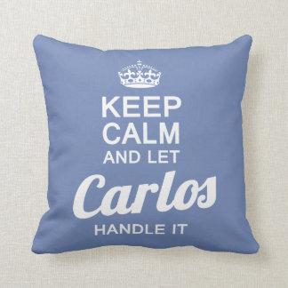 Let Carlos handle it! Cushion