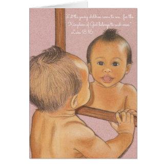 Let Children Come~Scripture Card