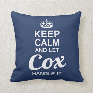 Let Cox handle it Cushion