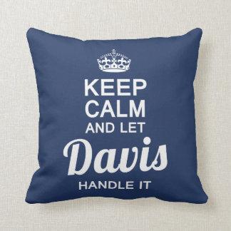 Let  Davis handle It! Cushion