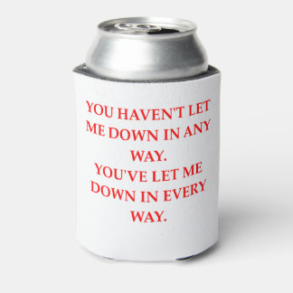 let down can cooler