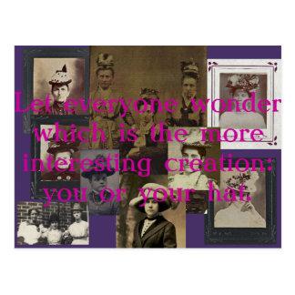 Let Everyone Wonder Postcard