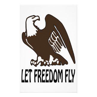 Let Freedom Fly Customized Stationery