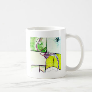 Let Freedom Reign in the Dance of the Chaos Star Coffee Mug