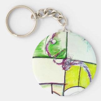 Let Freedom Reign in the Dance of the Chaos Star Key Ring