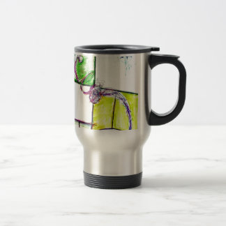Let Freedom Reign in the Dance of the Chaos Star Travel Mug
