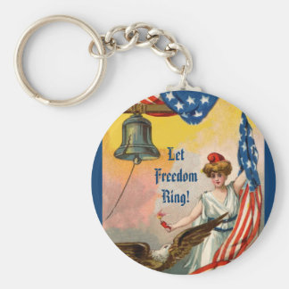 Let Freedom Ring Key Ring