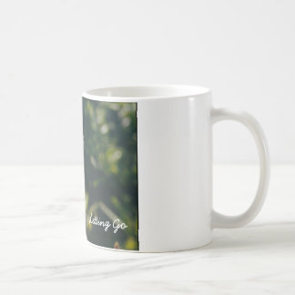Let Go coffee mug