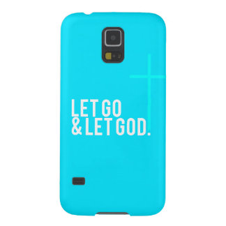 """Let go & let God."" w/Cross Galaxy S5 Cases"