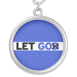 Let GO Silver Plated Necklace